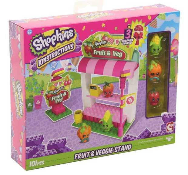 Shopkins Kinstructions Fruit & Veggie Stand