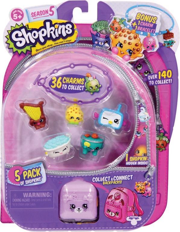 Shopkins Season 5 - 5 Pack