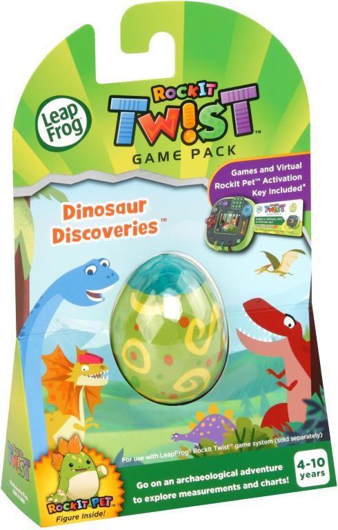 Leap Frog Rockit Twist Expansion Packs - Dinosaurs