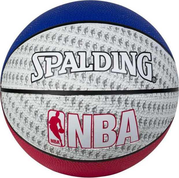 NBA Mini Outdoor Sz 3 - Red/White/Blue