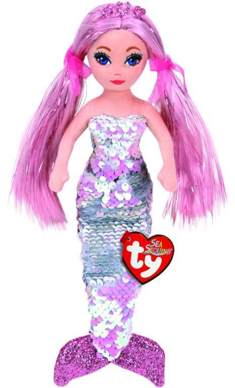 Sea Sequin Medium Cora Pink Mermaid