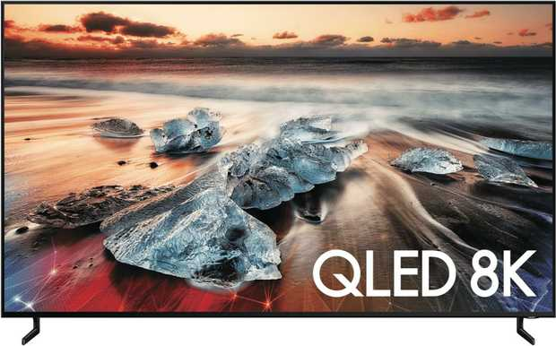 Welcome to the future of television - 8K. With this 65-inch Samsung QLED 8K smart television...