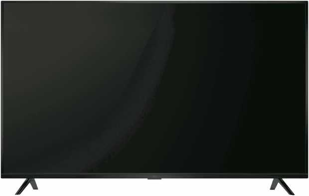 This TCL TV has a 40-inch screen, an LED LCD display, and 1080p Full HD video. Look at precise graphics...