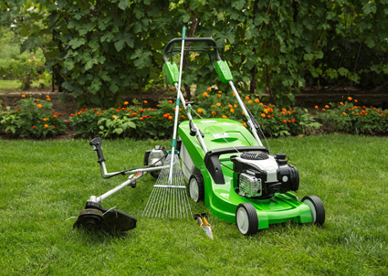 BLUE SKIES MOWING -   