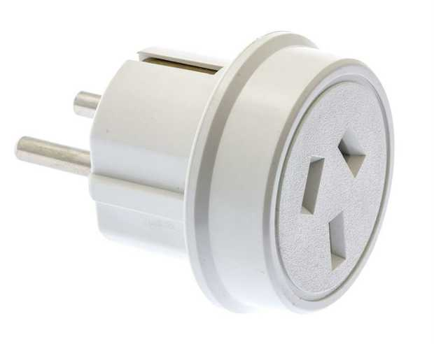 Europe Travel Adaptor  Commonly used in: Albania, Armenia, Austria, Belgium, Bosnia and Herzegovina...