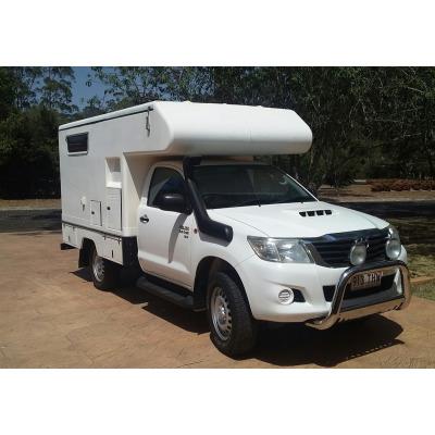 HILUX 4X4 CAMPER 2014    3L Turbo Diesel  Adventure Camper  Cruise  Power...