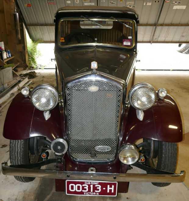 WOLSELEY HORNET 1934   6 Cylinder Sedan, Hydraulic Brakes, 3 Owners (last since 1977), Restored...