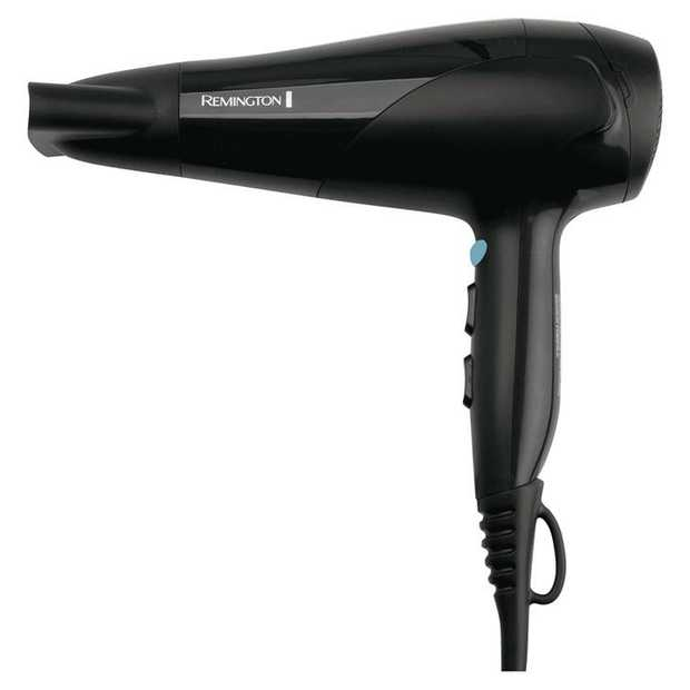 The Remington Aero 2000 Hairdryer features 2000W of versatile styling and drying power. With 6 switch...