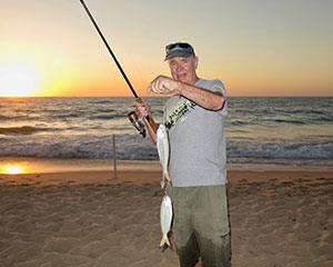 Try your hand at fishing during this five hour sunset beach session. Suitable for all experience...