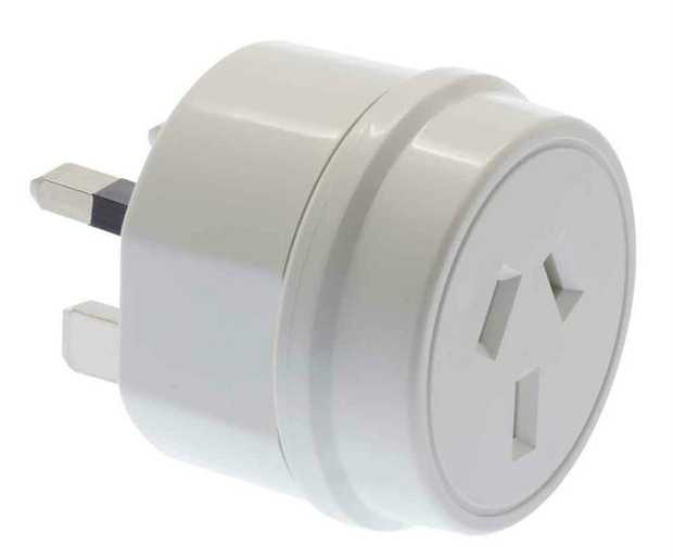 UK Travel Adaptor  Commonly used in: Bahrain - Brunei - Cyprus - Gambia - Grenada - Hong Kong - Ireland...