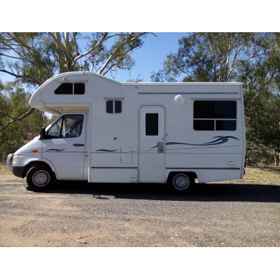 2004 Mercedes Sprinter Campervan   $39,500   