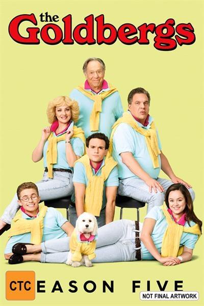 The Goldbergs - Season 5 DVD      Oh, like your family was so cool in...