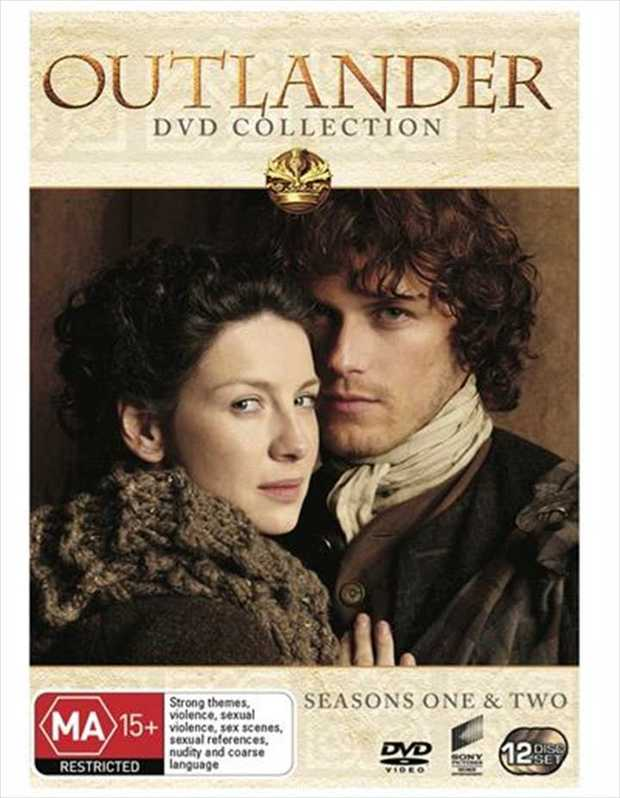 Outlander Box Set DVD Season 1-2 - On Sale Now With Fast Shipping! What if your future was the...