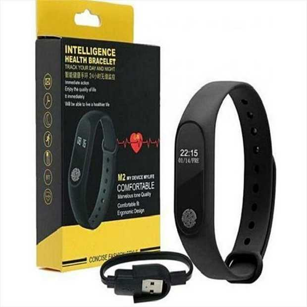 M2 Smart Bracelet smart watch Heart Rate Monitor bluetooth Smartband Health Fitness Smart Band...