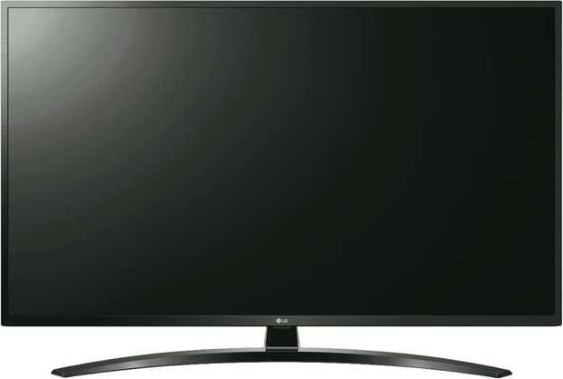 Enjoy a large vibrant viewing area with this LG TV's 65-inch screen. It has an LED display. The LG...
