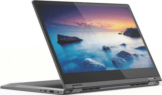 "The Lenovo IdeaPad C340 14"" i5 2-in-1 Laptop 81TK002XAU has a 1.6 GHz Quad-Core 10th Gen Intel Core i5..."