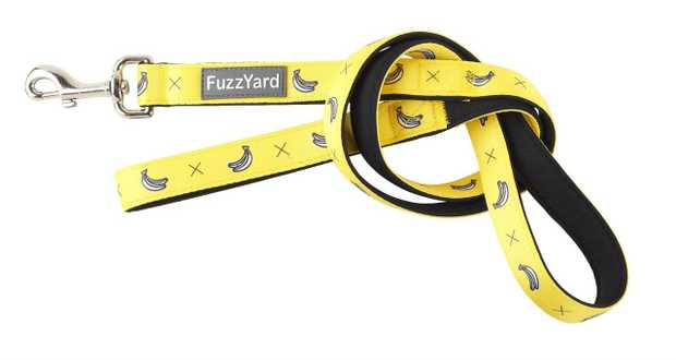 Let your buddy strut out in style with a little splash of fun with the FuzzYard Dog Lead Monkey Mania...