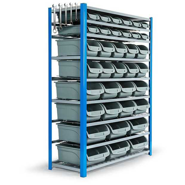 The ultimate economical solution to your storage challenges be it at the workshop, or in the garage.