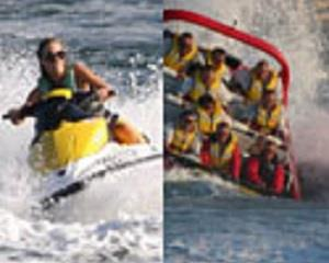 Experience the power of a jet boat ride as you blast into the beautiful Gold Coast Broadwater, before...