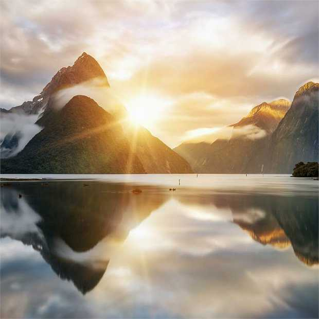 Discover the stunning natural beauty of New Zealand on a 13-night cruise aboard the grand Ruby...