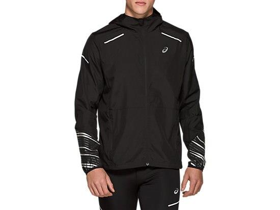 Be protected from the elements in the LITE-SHOW 2.0 JACKET for male runners by ASICS. Wind and water...