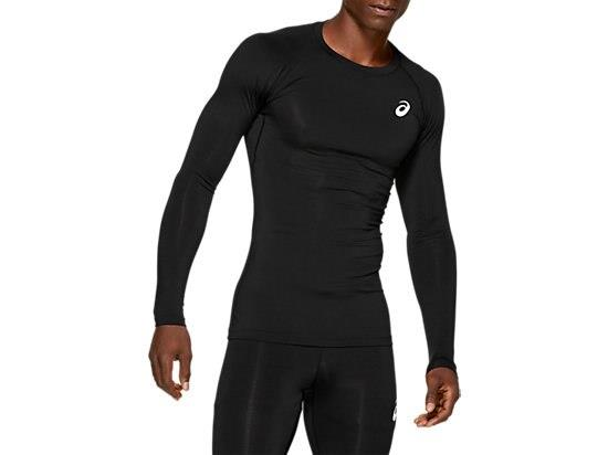 The men's MOVELAYER long-sleeved running top by ASICS can be teamed with the MOVELAYER sprinter or...