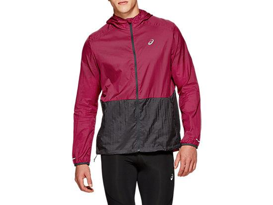 Be prepared for sudden changes in the weather with this men's packable running jacket by ASICS. Its...