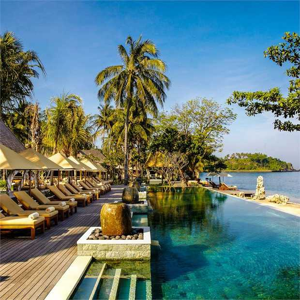 Immerse yourself in the pristine beauty of Bali's sister island, Lombok, with a boutique stay at the...