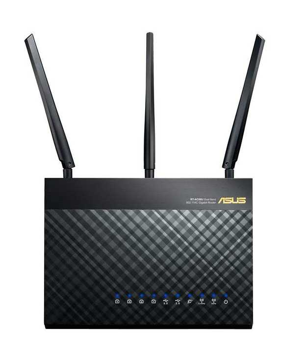 Speeds up to 1900Mbps Ultra-fast 802.11ac Dual-band Wi-Fi Router Broadcom® TurboQAM™ Technology Five...