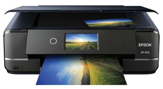 "Print, Scan, Copy Functions Professional photo quality® design Intuitive 4.3"" touchscreen Gesture..."