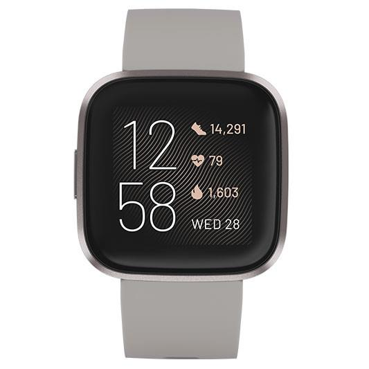 Fitbit Versa 2 Smart Watch - FB507GYSR - Stone/Mist Grey