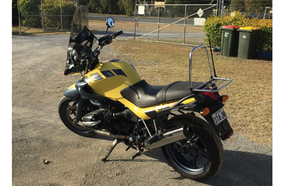 SOLD - BMW Motorcycle 2004 Roadworthy, new tyres, 2 previous owners, registered, 40,000kms.