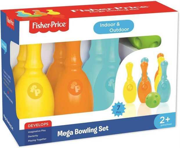 Fisher Price Mega Bowling Set