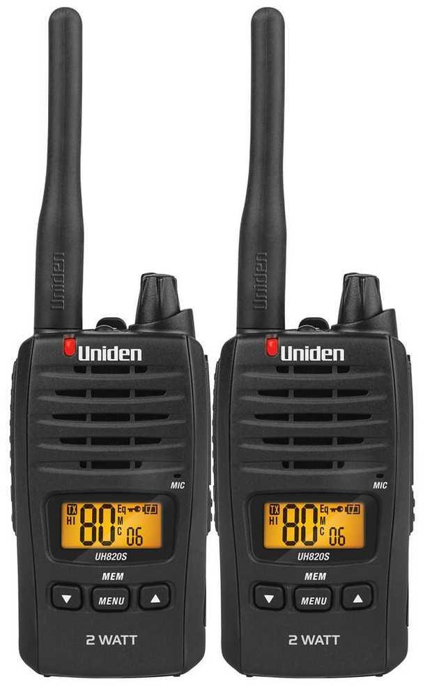 2 Watt Maximum TX Output Power 80 UHF Channels USB Charging 13km Range 21hrs Operating Time Long Life...