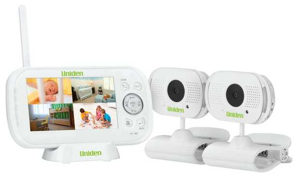 Expandable up to 4 cameras Zoom and pan capabilities See and hear your child Secure digital crystal...