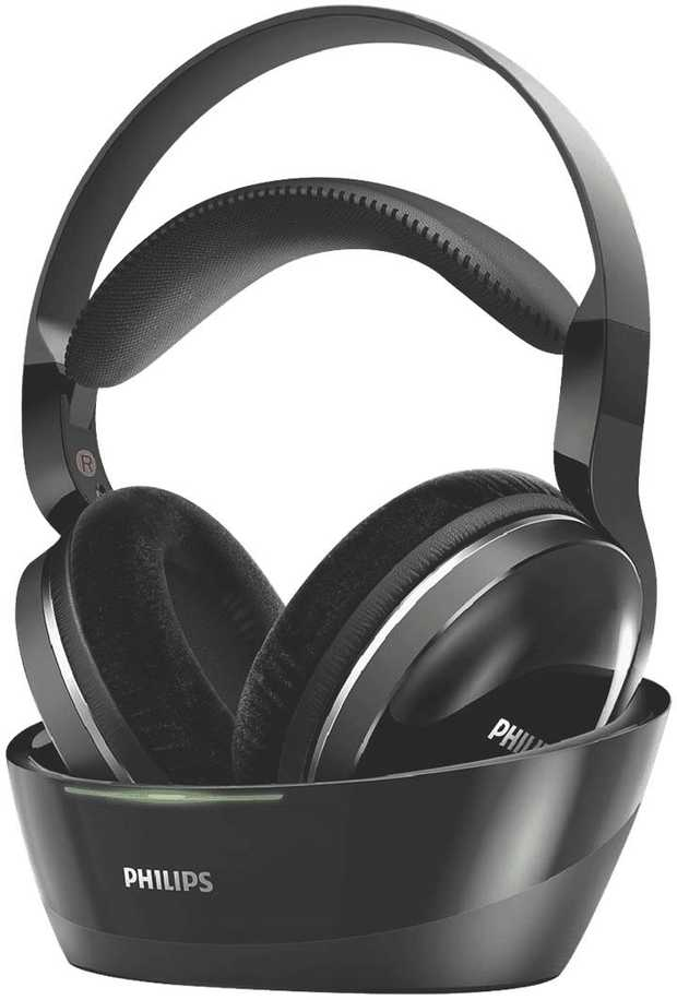 The Philips SHD8850 wireless headphones immerse you in your own world of cinematicsound, with total...