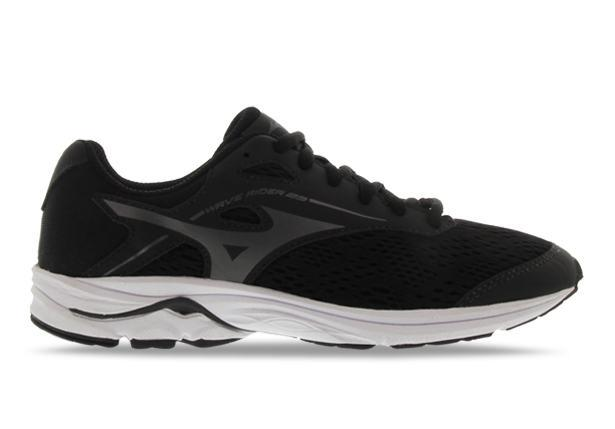 The Wave Rider 23 is developed for young runners to deliver a smooth and easy feel in a neutral shoe.