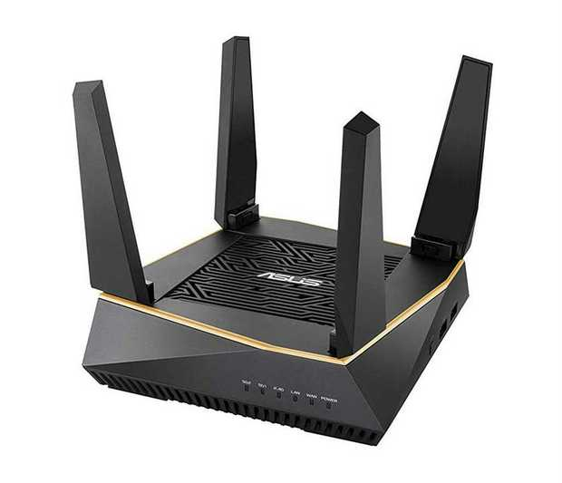 400Mbps+ 867Mbps+ 4804Mbps Speed Next-Gen Wi-Fi6 Technology Flexible Wi-Fi for Connected Devices...