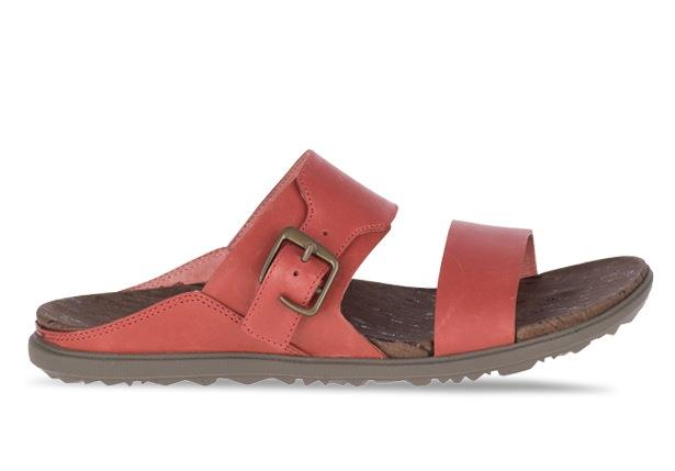The Around Town slide will keep you exploring with its full grain leather upper and air cushion...