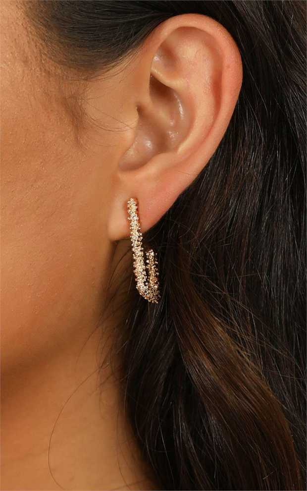 Are you ready for a step up to your outfit this weekend? Count On Me earrings in gold are the stud...