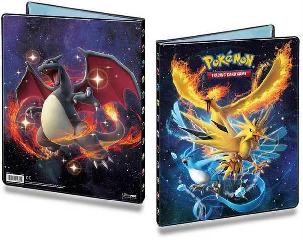 Pokemon Trading Card Game Hidden Fates-  Portfolio 9 Pocket Assorted