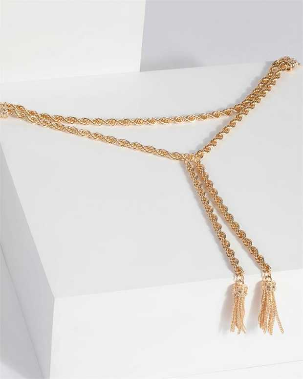Part of our Comin in Hot collection Finish your outfit with layered chains or mix n match with other...