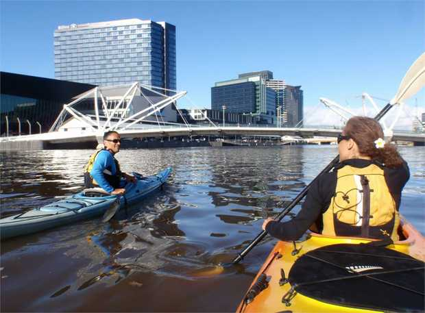 Bypass the traffic and enjoy the best views in town, from the water! Paddle along the Yarra River to...