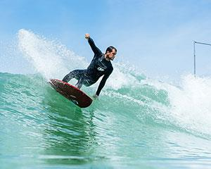 Begin your surfing journey at Australia's first surf park! During your lesson, an expert surf coach...