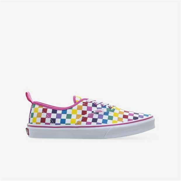A clever twist to the Authentic, the Checkerboard Authentic Elastic Lace is a classic low top...