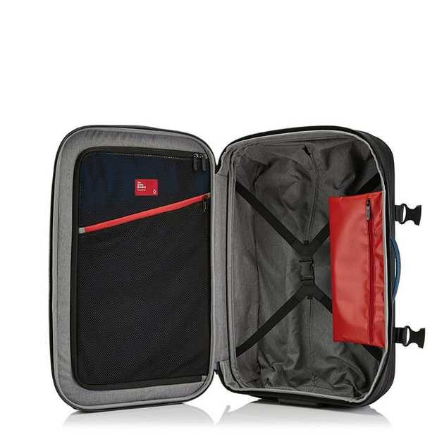 Discovering the wonders of the world has never been easier with the Zero Border Check-in luggage, the...