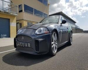 Are you ready to experience a luxury Sports GT on a real race track? The Jaquar XKR is sleek, fast and...