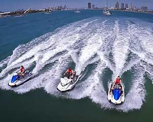 Get out on the water with your partner, bestie or sibling for some extreme high speed fun! With this...