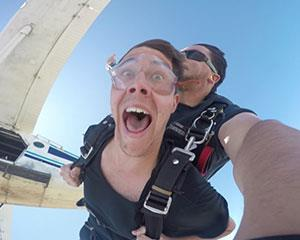 Marvel at the Hunter Valley from a whole new perspective during this thrilling tandem skydive. From up...