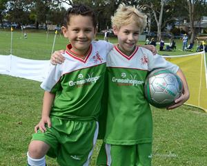 Teach children aged 2-12 the basics of playing soccer in a fun, social and non-competitive...